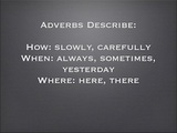 How to Use Adverbs – Grammar Examples