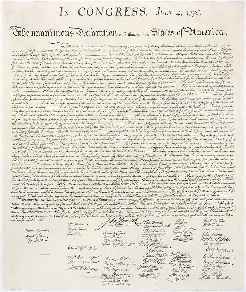US History |Declaration of Independence