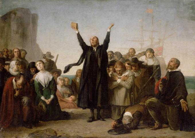 The Puritans in New England