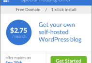 Special WordPress Hosting offer for WPBeginner Readers
