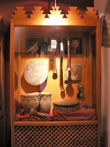 Medieval period instruments in Casa de Sefarad, Spain