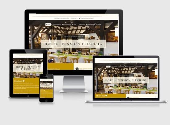 Webseite | Hotel- Pension Flechsig