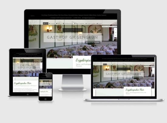 Webseite   Gsthof Giegengrün