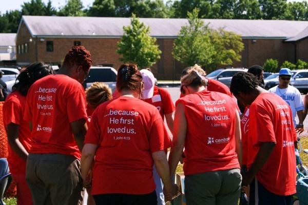 church outreach group prayer