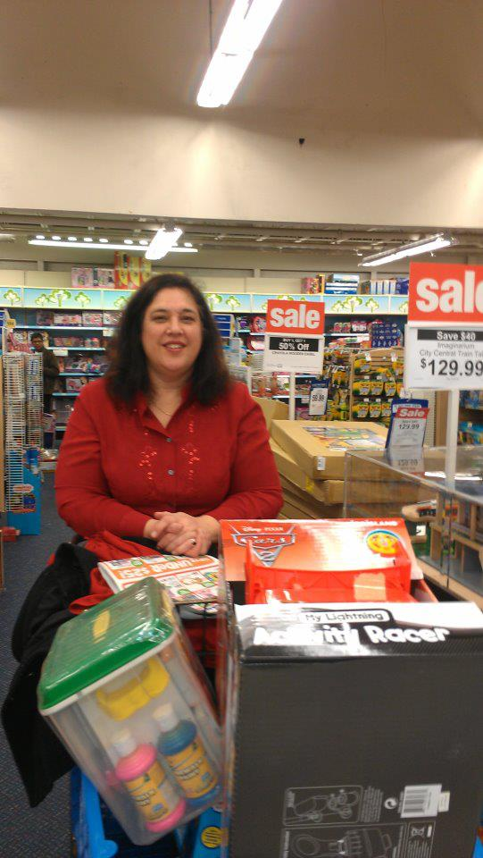 Toni Campbell Shopping for Outreach - Church Outreach Initiatives