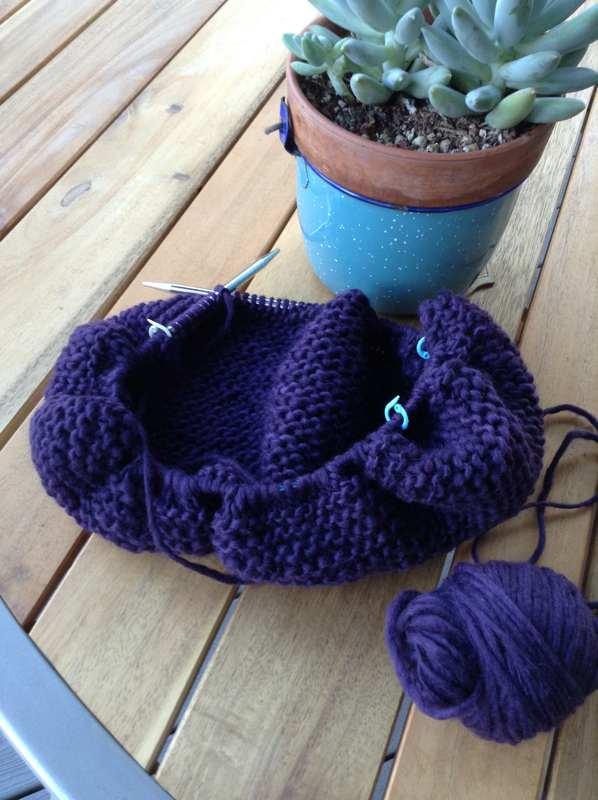 Knit Felted Bag