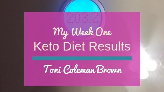 Keto Diet Results – Week One