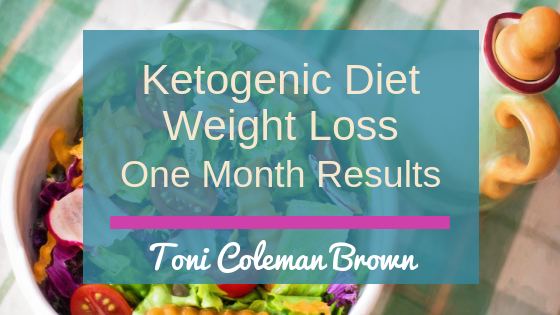 Ketogentic Diet Weight Loss One Month Results