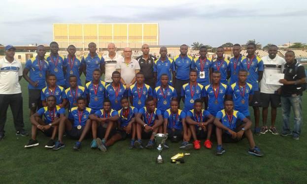 Campeonato nacional junior de futbol en Cabinda