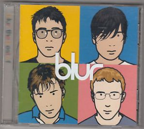 Blur CD cover, Julian Opie