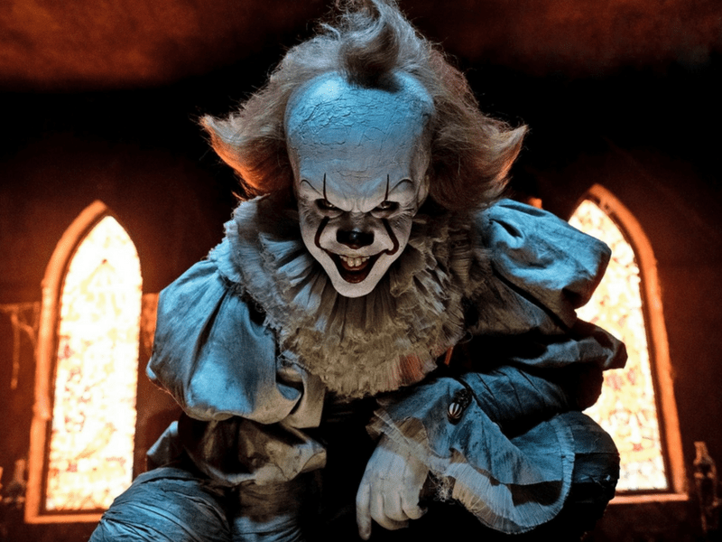 Bill Skarsgård, Jaeden Lieberher, Henry Bowers, Pennywise, To, It, Stephen King