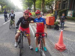 Toni Franco y Miriam Casillas en Yokohama