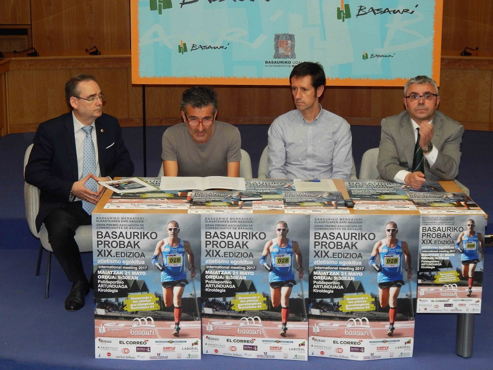 foto rueda prensa - Toni Franco participará en el Meeting Internacional XIX BASAURIKO PROBAK 2017