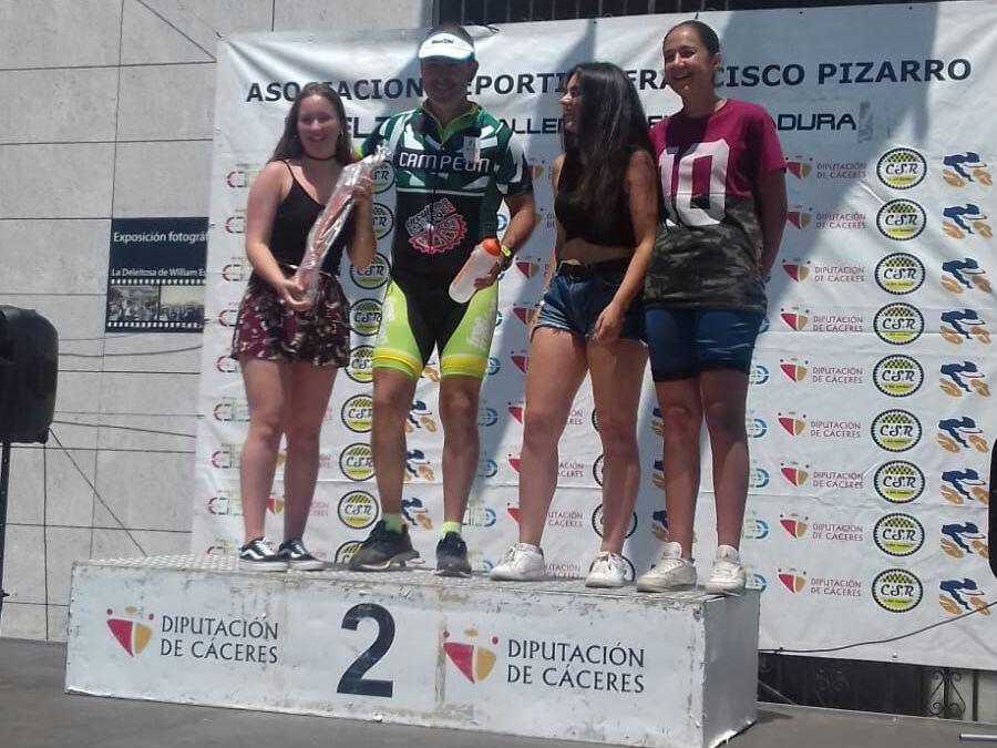 Campeón de la Challenge Carretera Extremadura 2.018 en la categoría MC5