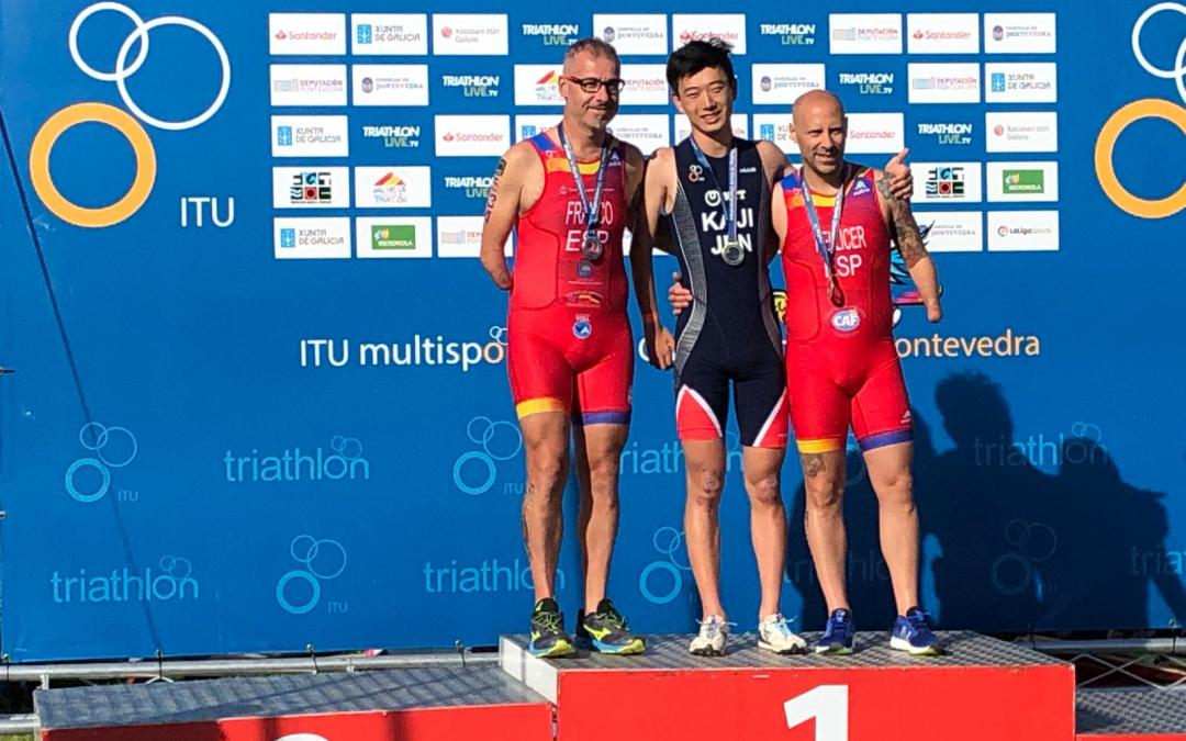 Subcampeón del Mundo de Acuatlón 2019 ITU Pontevedra Multisport World