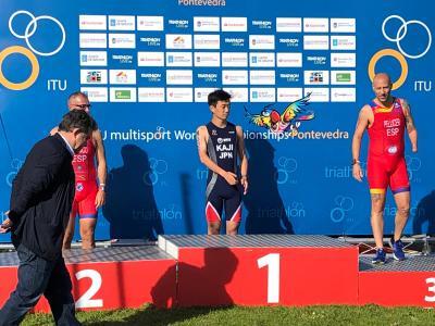 Toni Franco Subcampeón del Mundo de Acuatlón 2019 ITU Pontevedra Multisport World (8)