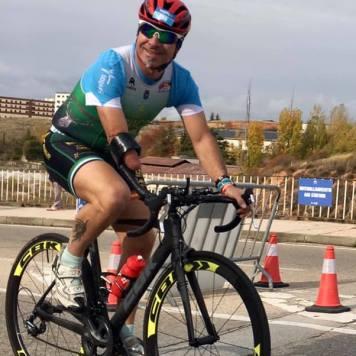 Campeón de España de Duatlón en PTS5 en Soria 2020