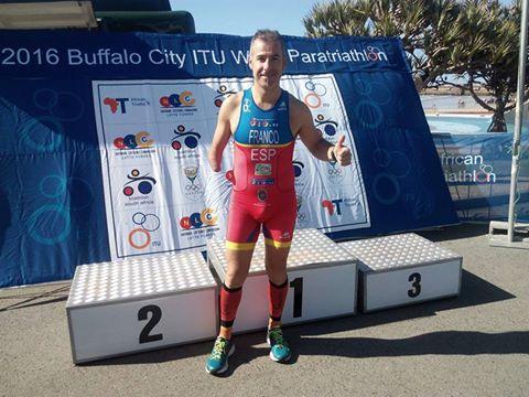 Toni Franco sumando puntos en Sudáfrica