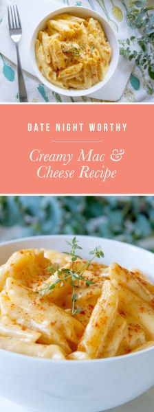 Date night worthy mac and cheese