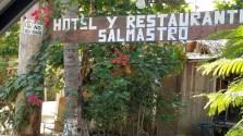 Entrance to Hotel Salmastro