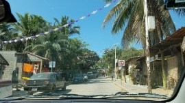 Road construction in Manzunte