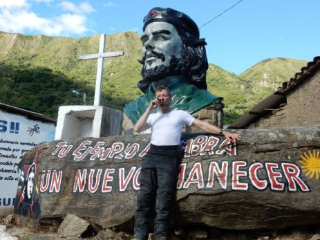 "Mit ""Cohiba"" bei Che"