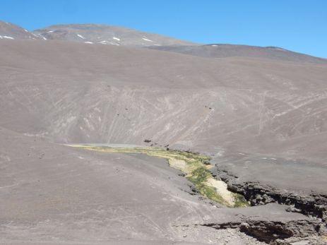 Auf der Passhöhe Mitten in der Wüste