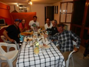 Dear biker friends!!! Asado vom Feinsten