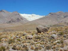 Grenze Chile zu Boliven Alto Toroni Passhöhe auf 5.200m