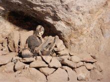Mumien, aus der Inkazeit konserviert durch das Klima auf 4.000m und der Luft am Salzsee Uyuni.
