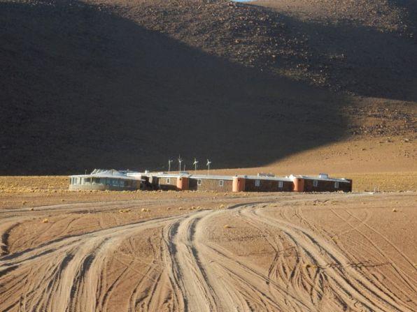 Hotel Desierto 5-Sterne Hotel mitten in der Wüste