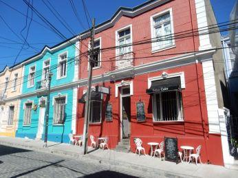 Die Häuser von Valparaiso