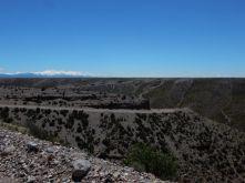 Im Hintergrund die Anden.
