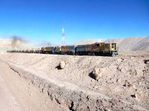 Estacion Zaldivar, riesige Mine in der Atacama