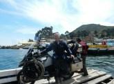 Überfahrt nach Copacabana am Titicacasee