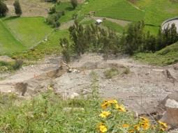 El Nino lässt grüßen - Erdrutsch bei Cotahuasi - 3h warten.