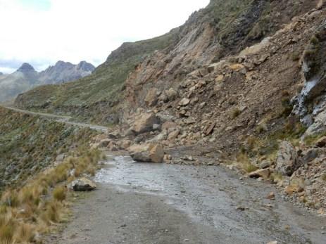 Direkt im Nationalpark Huascaran - wenn's dann nicht mehr weiter geht