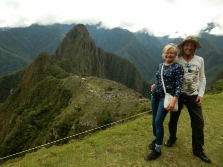 Machu Picchu ... und wir ...