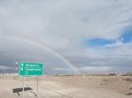Regenbogen über Calama