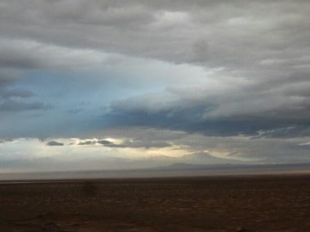 Himmel über Calama - die trockenste Stadt der Welt ???