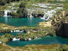 Lagunas i Cascades na Vilca