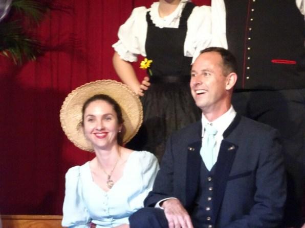 Erwin mit seiner hübschen Frau