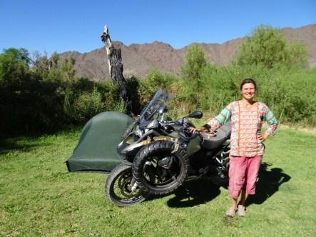 Bei Martina am Campingplatz in Seclantas bei Cachi / Salta