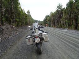 Eigentlich sollte die Carretara Austral schon seit zig Jahren fertig und asphaltiert sein ...