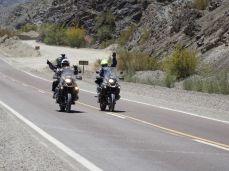 Mabel, Nito und Miguel => auf dem Weg nach Barreal