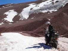Paso Agua Negra - eigentlich ist der Pass wegen Schneepassagen gesperrt, wir waren trotzdem da!!!