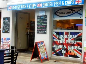 Fisch 'n Chips ganz im Süden Europas