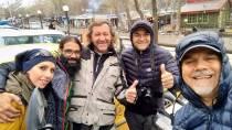 Kandovan - Türkische Biker, Bergsteiger, … sehr nette Leute mit denen ich noch immer in Kontakt bin
