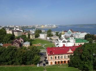 Nischni Novgorod - wo die Oka in die Wolga mündet