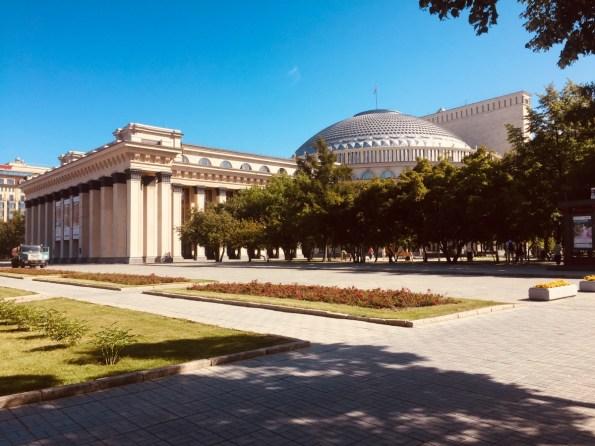 Novosibirsk - Opernhaus